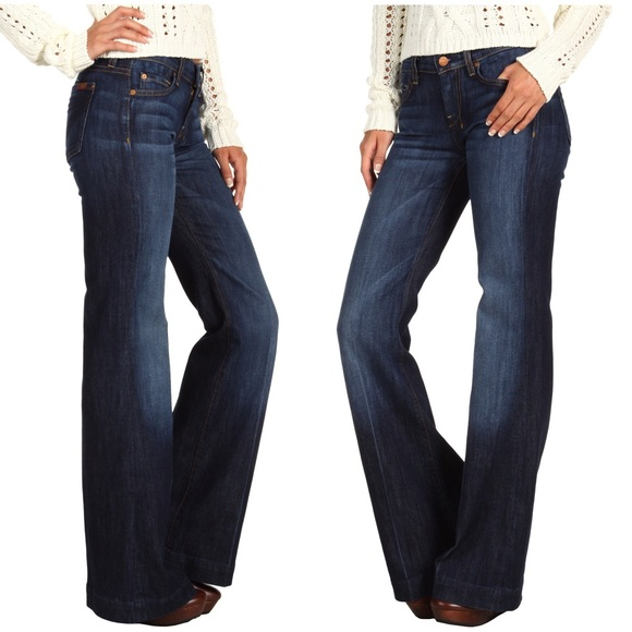 Dojo Flare Jeans New York Dark